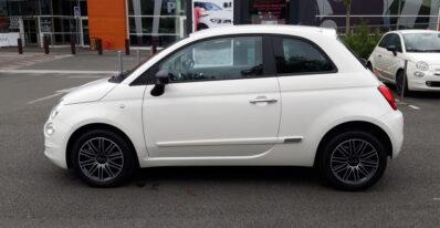 Fiat 500 POP 1.2  69ch 11270€ JP Automobiles PALAISEAU